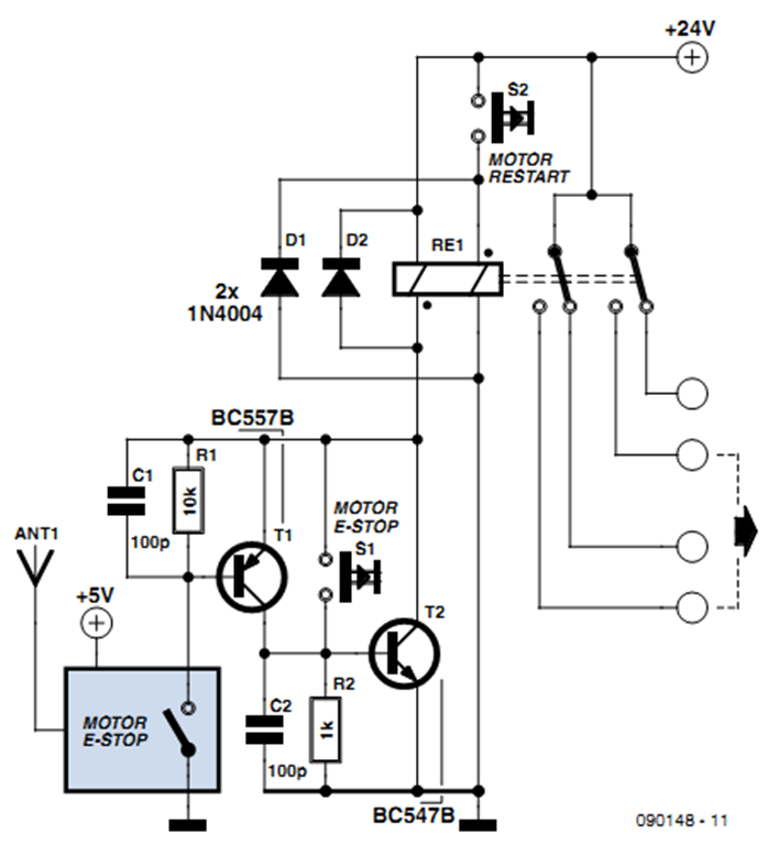 Raj's thoughts: Wireless and Wired Emergency Stop System